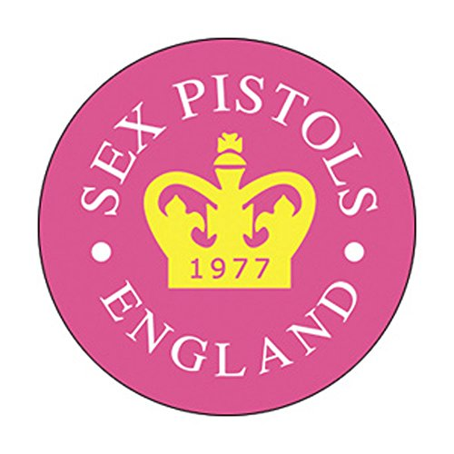 Sex Pistols - 77 Crown - Pinback Button 1'