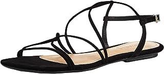 SCHUTZ Womens Boyet Fabric Open Toe Casual Slingback Sandals