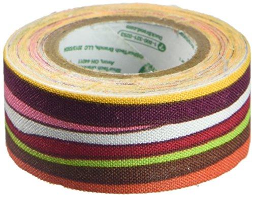 Tissu ruban corail.75 « X 96 » Multistripe