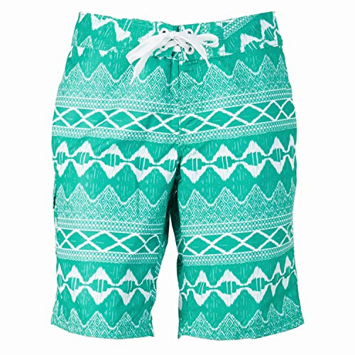 Kanu Surf Damen Oceanside UPF 50+ Active Swim Board Short (Reg & Plus Größen) - Grün - 42