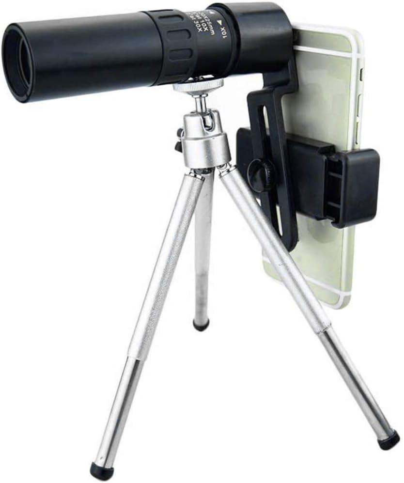 Professionnel 4K 10-300x40 mm Super T/él/éobjectif Zoom T/élescope Monoculaire Portable T/él/éphone HD T/élescope Monoculaire avec Vision Nocturne pour lobservation des Oiseaux en Camping Randonn/ée