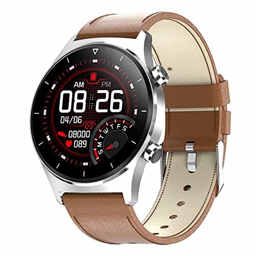 ZGZYL E13 - Reloj inteligente para hombre con presión arterial, frecuencia cardíaca, oxígeno en la sangre, rastreador de fitness, podómetro, GPS, IP68, resistente al agua, reloj deportivo, G