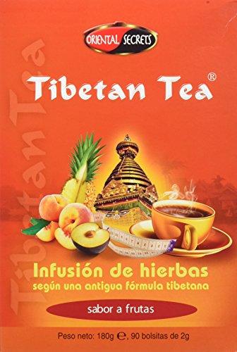 Tibetan Tea Infusión de Hierbas Frutal - 90 bolsitas