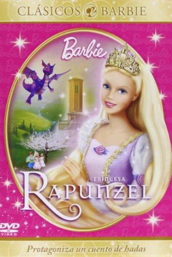 Barbie en princesa Rapunzel [DVD]