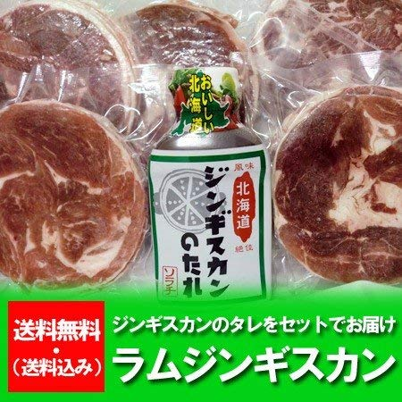 ラム肉 ジンギスカン たれ 150g×6パック 北海道からラム肉 ジンギスカン料理にラムスライス・ラムショルダー 150g×6パック ソラチ ジンギスカン つけだれ 付 送料無料