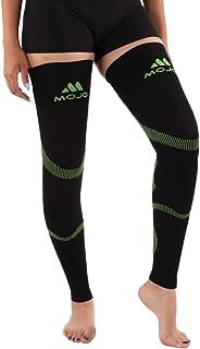 Mojo Compression Stockings Medical Thigh Leg Sleeve Firm 20-30mmHg Black Green Small