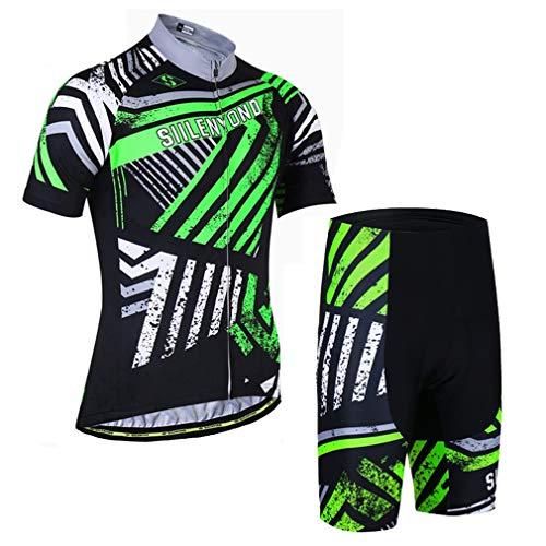 X-Labor Conjunto de maillot de ciclismo para hombre de manga corta y...