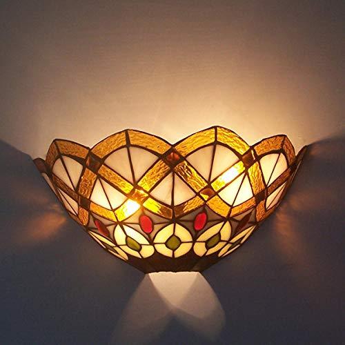 Lámpara De Pared Aplique De Pared Lámpara De Pared De Estilo Europeo Lámpara De Pared De Fondo Sabor Color Creativo Precio Especial Lámpara De Pared Manual Soldadura Arte Vidrio Lámpara-A