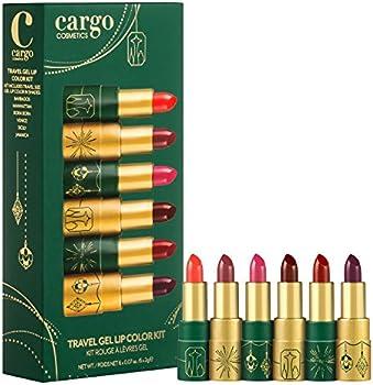 6-Piece Cargo Cosmetics Travel Gel Lip Color Kit