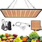 GreensinDoor 植物育成用ライト LED 植物ライト 400W相当 太陽光のように ルスペクトル 225個LEDチップ 省エネ 長寿命 水耕栽培用ライト 室内栽培ランプ 育苗 家庭菜園 野菜工場 多肉植物 観葉植物 説明書付き