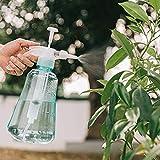 Moda Tianzhi jardinería doméstica, regar las plantas botella de spray neumático regadera riego dispositivo de pulverización (Size : 1.5L Guanglan Series-Mint Green)