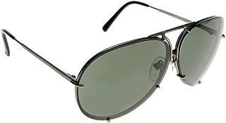 Porsche Design Titanium Sunglasses P8478 C 69mm Grey Matte - Unisex - Extra Lenses