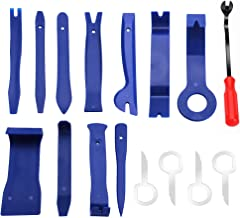 Auto Trim Removal Tool Kit for Car Door Clip Panel Audio Video Dashboard, Set of 16Pcs