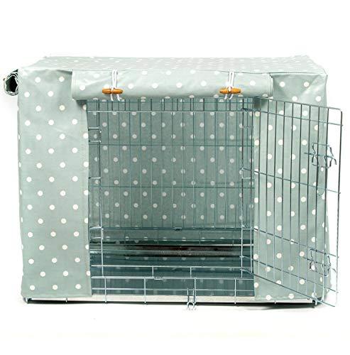 Hidey-Hidey Funda de hule para jaula de perro con diseño de huevo de pato para adaptarse a cajas Ellie-Bo y cajas de perro de tamaño similar (extra grande de 106,7 cm)