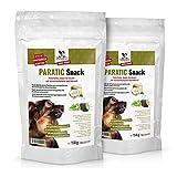 DOGS-HEART PARATIC Snack - Natürlicher Schutz- Snack für Hunde mit Schwarzkümmelöl und Kokosöl