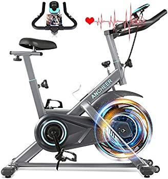 Ancheer 330 Lbs Weight Capacity Stationary Exercise Bike