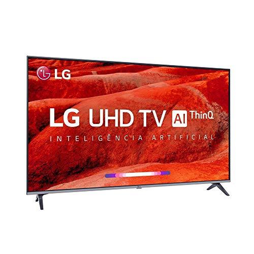 """Smart Tv Led 75"""" Lg 75um7510, Uhd 4k, Thinq Ai, Webos 4.5, Quad Core, Hdr Ativo, 2 Usb, 4 Hdmi"""