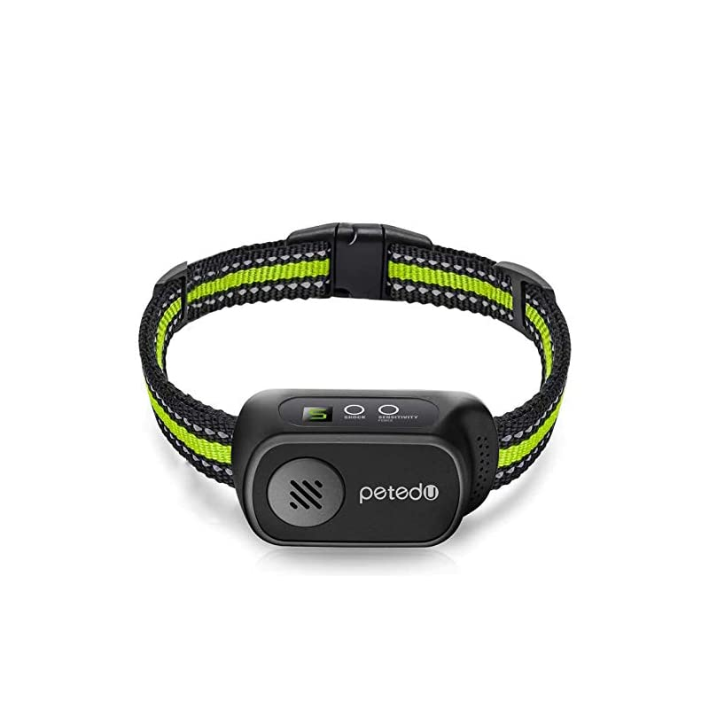 dog supplies online dog bark collar - rechargeable bark collar for small medium large dogs, humane anti barking collar with beep vibration and shock