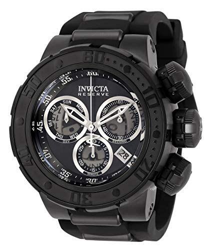 Invicta Reserve Subaqua Sea Dragon Men's Chronograph 52mm Case Black Silicone Strap Watch (32764)