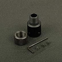 Aluminum Ruger 1022 10/22 Muzzle Brake Adapter 1/2x28 & 5/8x24 .750 Barrel End Thread Protector Combo 308
