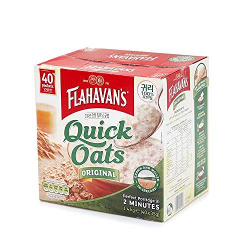 Flahavan's Quick Oats オーツ麦 ORIGINAL, 40 Packets (35g x 40) [並行輸入品]
