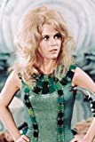 Poster Jane Fonda als Barbara in Barella, 60 x 91 cm, Grün