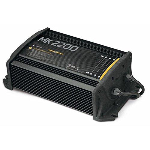 Minn Kota MK-220E - Cargador de baterías (12 V, 2 pilas de 10 A)