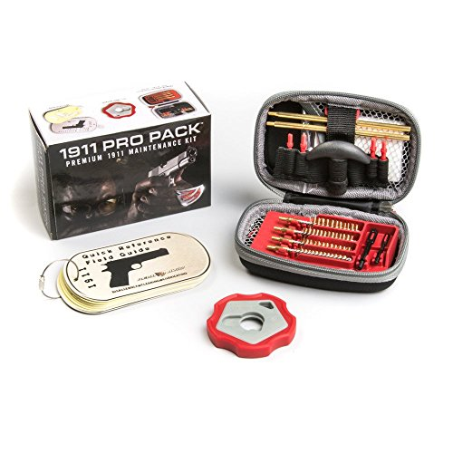 Real Avid 1911 Pro Pack - 1911 cleaning kit with brass rods, 1911 bushing wrench, 1911 field guide and more