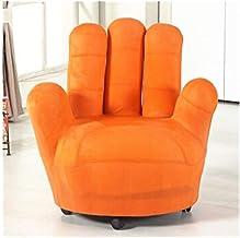LJBH Fabric Sofa Creative Lazy Sofa Chair, Five-finger Single Sofa Chair, Color, Removable comfortable, no fading (Color :...