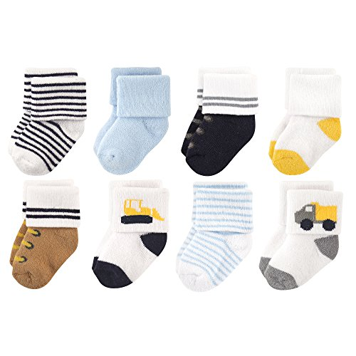 Unisex Baby Newborn and Baby Terry Socks