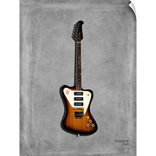 CANVAS ON DEMAND Gibson Firebird 65' Wall Decal, 36'x48'