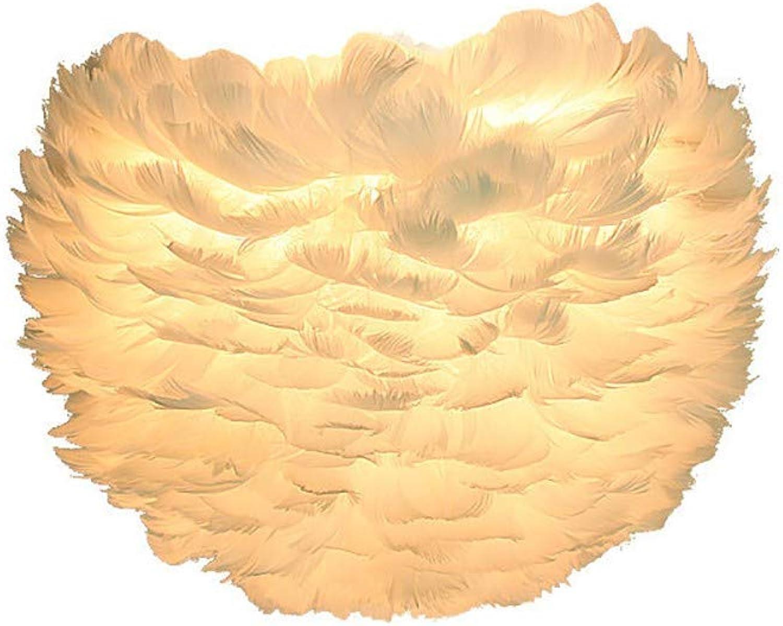 Wandleuchte, Feder Wandlampe Gnsefedern Kunst Schlafzimmer Schlafzimmer verdunkeln