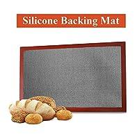 zhuangyulin6 1pc tappetini da forno in silicone, silicone da forno tappetino antiaderente foglio di rivestimento strumento per biscotti/pane/biscotti da cucina accessori da forno