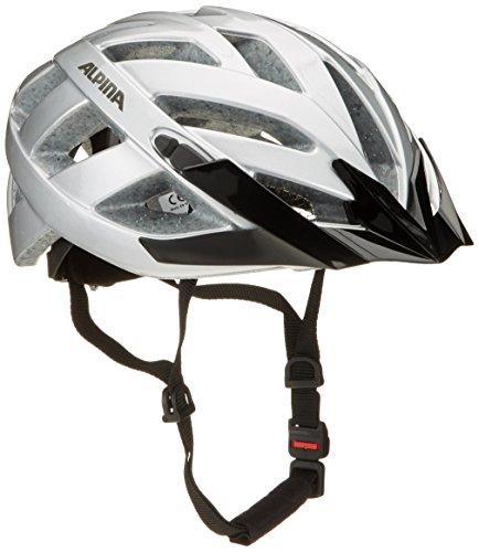 ALPINA PANOMA CLASSIC Fahrradhelm, Unisex– Erwachsene, silver, 52-57
