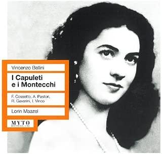 I Capuleti e I Montecchi Rome 1958 By Tatozzi-Pastori-Cossotto-Vinco (2013-09-09)