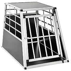 TecTake Alu Dog Transport Box -Diverse maten- (Single Large)*