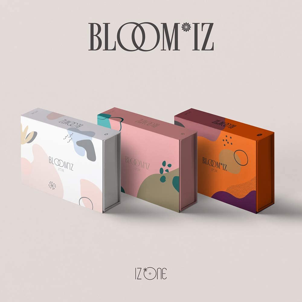 Off the Record IZ*One IZONE - BLOOM*IZ (Vol.1 Album) Album+Folded Poster (1+2+3 ver. SET)