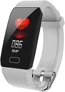 HOLACZES Q1 Pulsera Inteligente Rastreador De Ejercicios Presión Arterial Monitor De Frecuencia Cardíaca Monitoreo del Sueño Recordatorio De Información De Llamadas Reloj Deportivo