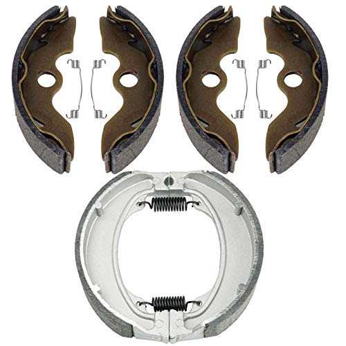Front and Rear Brake Shoes for Honda TRX 250 TE Recon ES 1997-2014