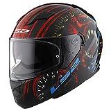 LS2 Helmets Full Face Stream Street Helmet (Speed Demon - Large)
