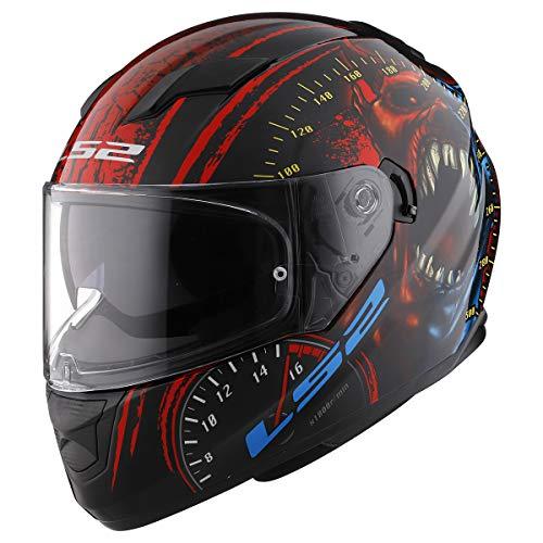 LS2 Helmets Full Face Stream Street Helmet (Speed Demon - Medium)