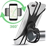 DFKDGL Bike Phone Mount Holder Best Universal Handlebar Cradle For All Cell Phones & Bikes. Clamp Fits Road Motorcycle & Mountain Bicycle Bicycle Accessories