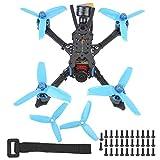 Drone da Corsa con Ricevitore Frsky XM +, Drone Interasse 152mm con Videocamera Caddx Ratel 1200TVL...