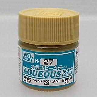 GSI Creos Aqueous Mr Hobby Color Acrylic H27 Bright Toast Brown Model Kit Paint 10ml