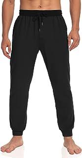 Sponsored Ad - Agnes Urban Men's Sleep Pants Soft Comfy Lounge Pajamas with Pockets Drawstring Jersey Joggers Sleeping pj ...
