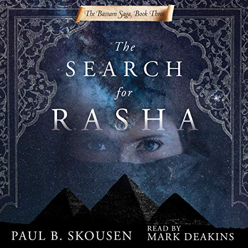 The Search for Rasha audiobook cover art