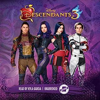 Descendants 3 audiobook cover art