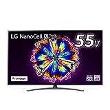 LG 55型 4Kチューナー内蔵 液晶 テレビ 55NANO91JNA IPSパネル Alexa 搭載 2020 年モデル