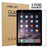 ZEBLUN Verre Trempé pour iPad 2018/2017 - Adsorption Intelligente, Bord d'arc 2.5D, Verre Trempe...