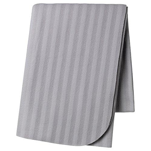 ZigZag Trading Ltd IKEA VITMOSSA Überwurf, Grau grau